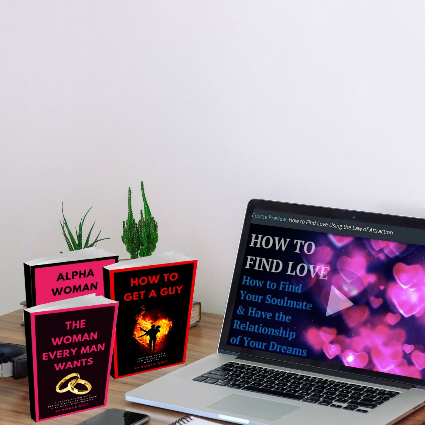 Course: How to Find Love Using the Law of Attraction (for Women) | 22 Lions