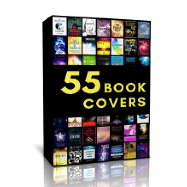 55 High Quality Book Covers Templates - 22 Lions Shop - 22lionsbookstore.myshopify.com