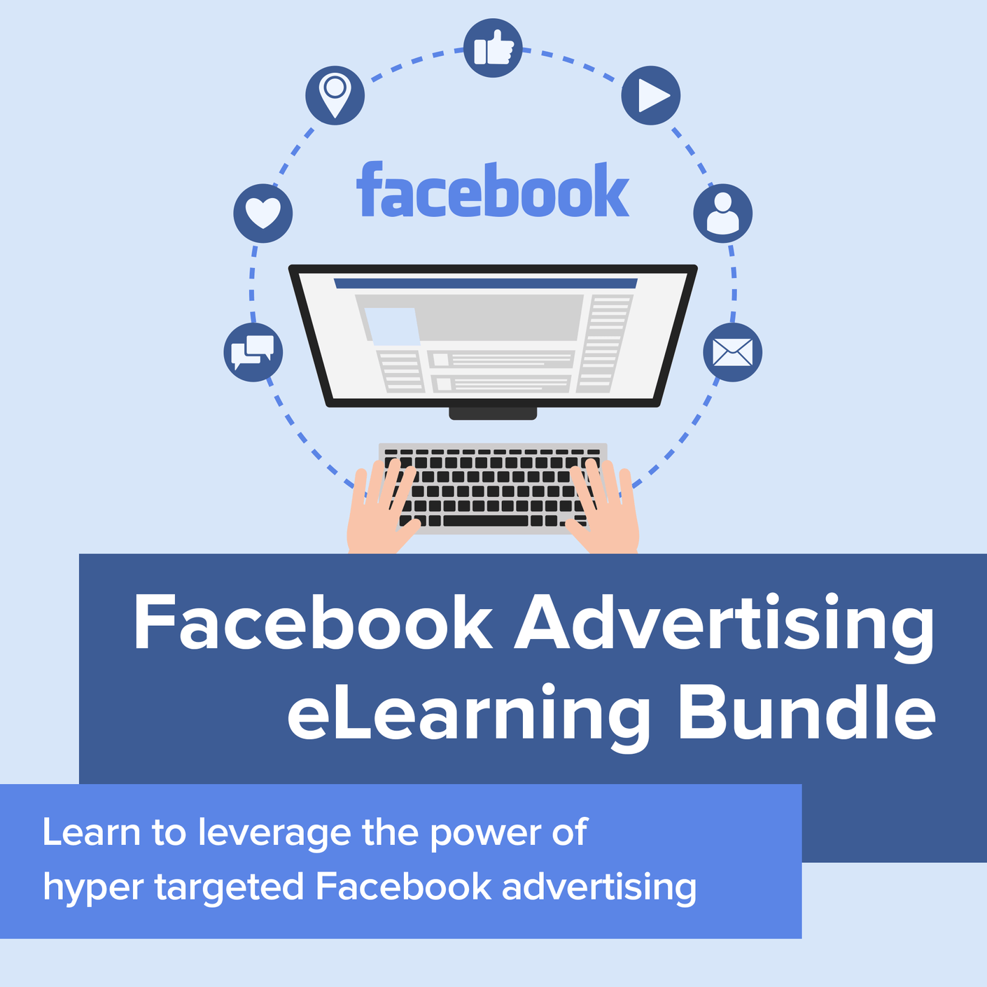 Course: Facebook Advertising eLearning Bundle | 22 Lions