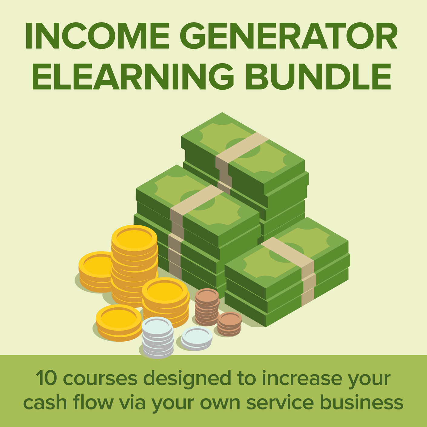 Course: Income Generator eLearning Bundle | 22 Lions