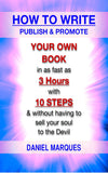 How to Write, Publish and Promote Your Own Book (ebook)