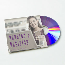 Running A Business (Audiobook) - 22lionsbookstore.myshopify.com