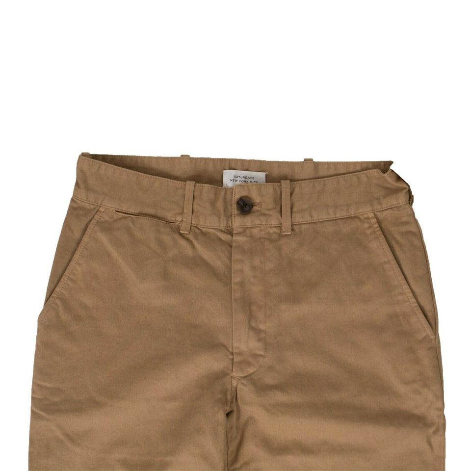 Cotton Pants - John Chino Brown