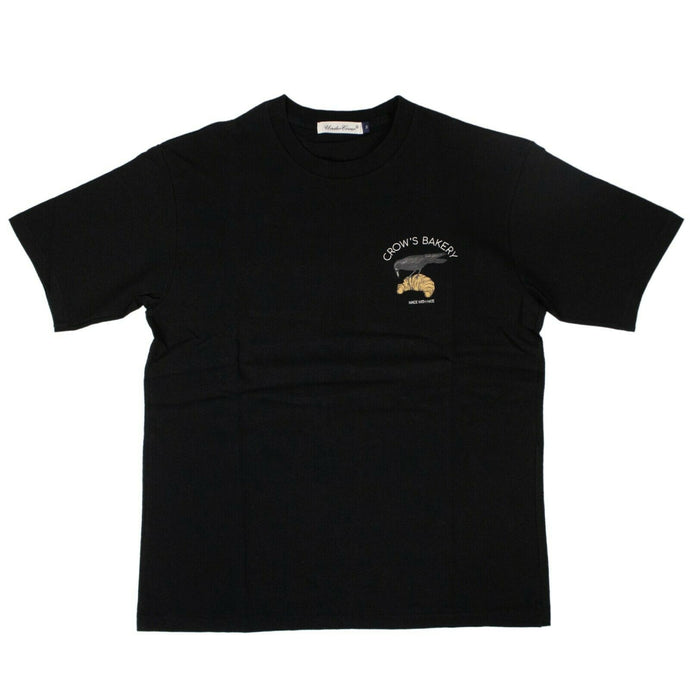 Cotton Crows Bakery T-Shirt - Black