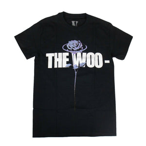 VLONE x POP SMOKE Cotton 'The Woo' Short Sleeve T-Shirt - Black