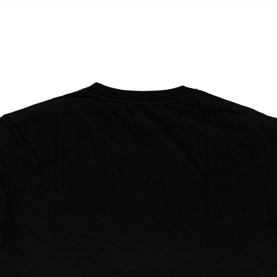 Organic Cotton Maha Eagle Chest T-Shirt - Black