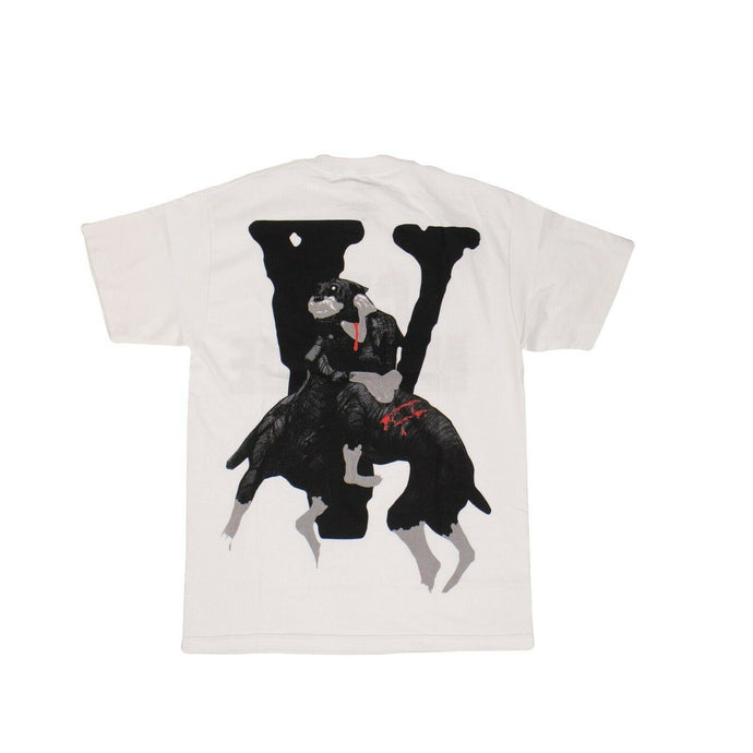 VLONE x CITY MORGUE Cotton 'Dogs' Short Sleeve T-Shirt - White