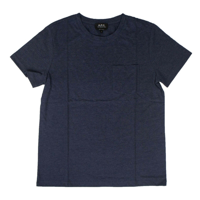 Cotton Marine Road Short Sleeves T-Shirt - Blue
