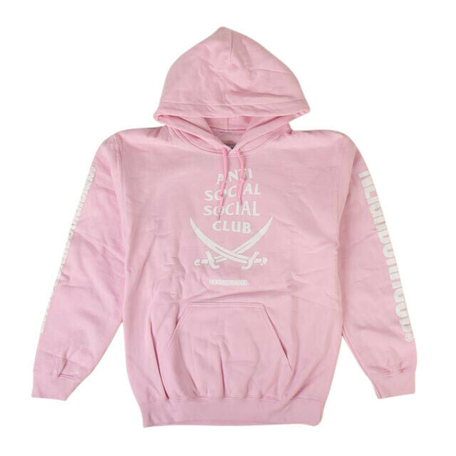 ANTI SOCIAL SOCIAL CLUB x Neighborhood 6IX Hoodie Sweatshirt - Pink