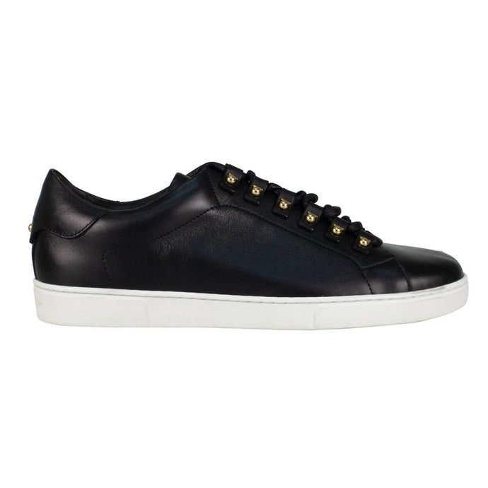 Vulcano Leather Sneakers - Black