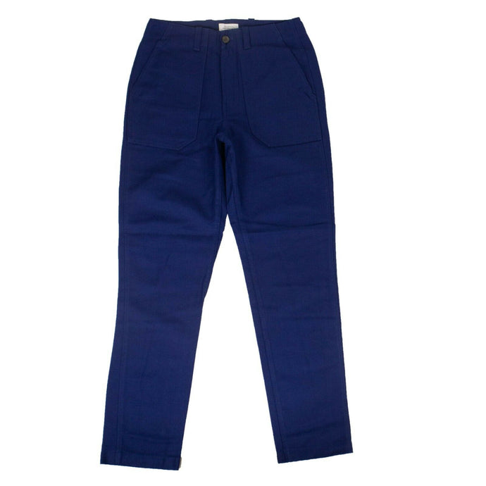 Cotton Decatur Bellow Pants - Cobalt Blue