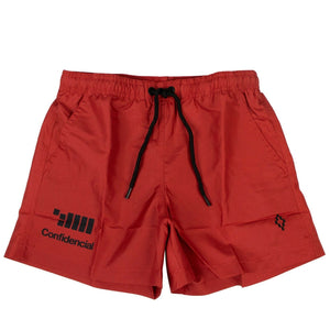 'VI.SI.ONES' Beachwear Swim Shorts - Red