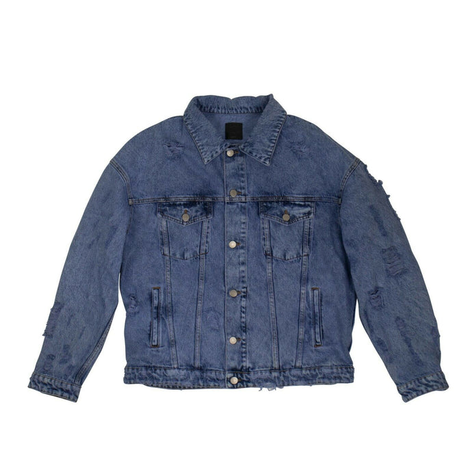Denim 'Rocky Gang Biscaine Bay' Jacket - Blue
