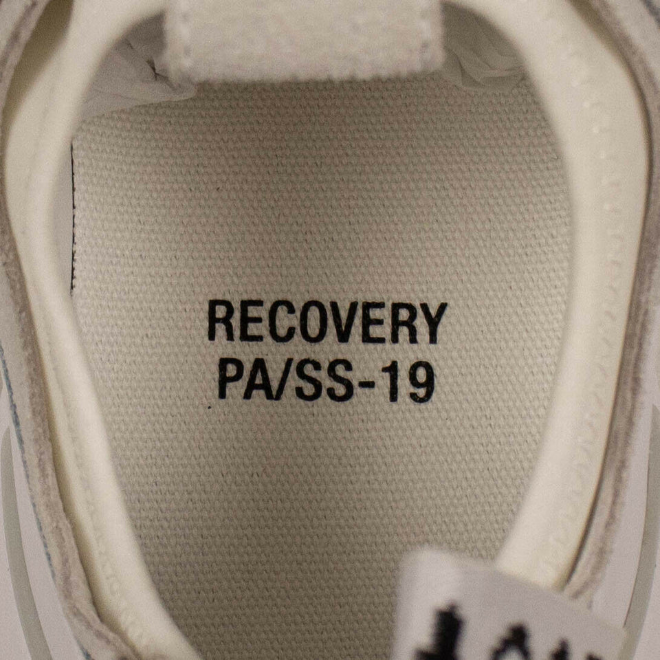 """Recovery"" Chunky Sole Sneakers - White"