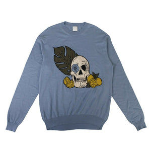 Serenity Paradise Pullover Sweater - Blue