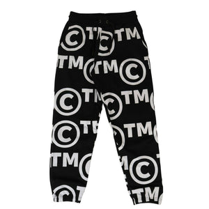 'Trade Mark' Sweatpants - Black