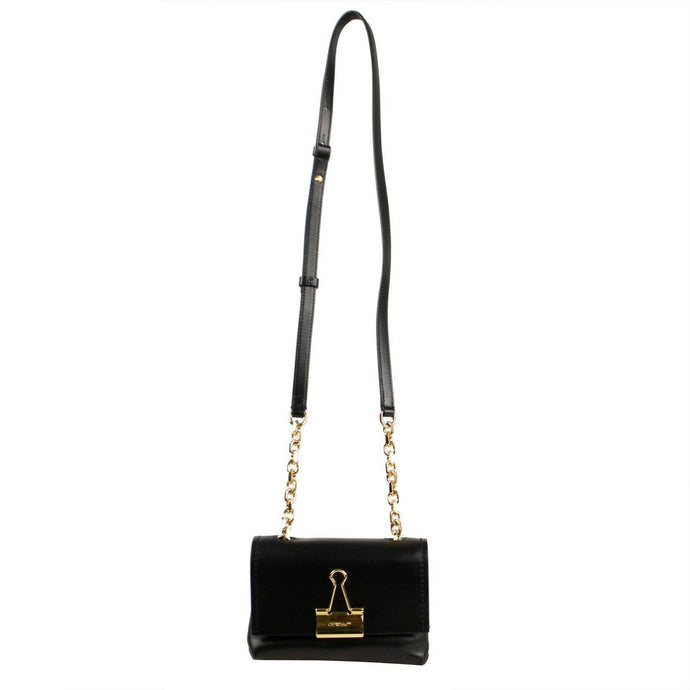 Binder Clip Small Crossbody Bag - Black