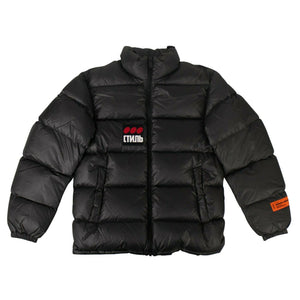 CTNMB Puffer Coat - Black