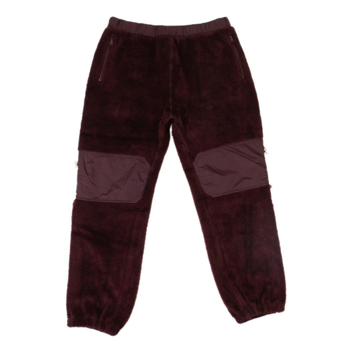 Acrylic Pants - Bordeaux Purple