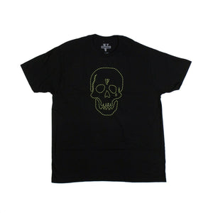 VLONE x NEIGHBORHOOD Cotton Green Skull Short Sleeve T-Shirt - Black