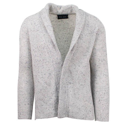 Rib Knit Cardigen - Light Gray