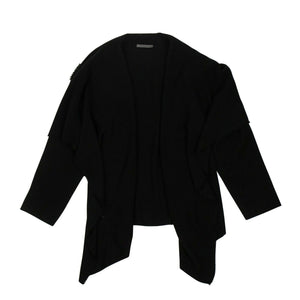 Cashmere Short Redingote Jacket - Black