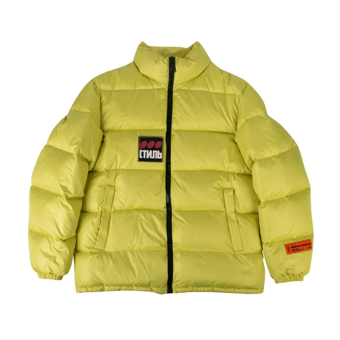 CTNMB Puffer Coat - Lime Green