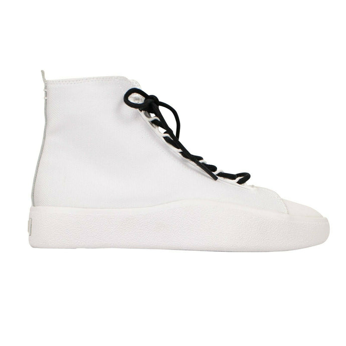 Canvas 'Bashyo' High-Top Sneakers - White