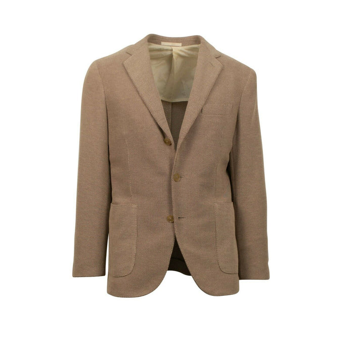 Drop 8 3 Roll 2 Button Wool Blend Sport Coat - Light Brown