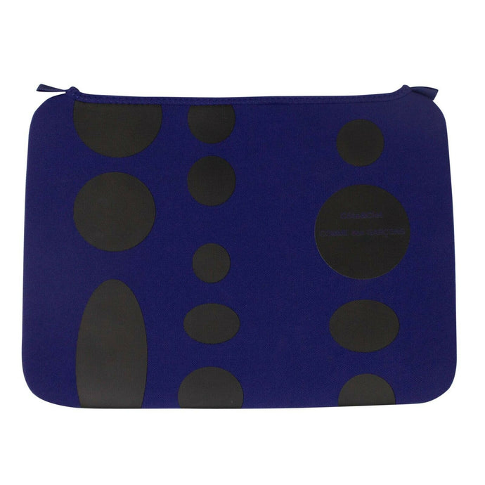 Polka Dot MacBook Pro 15 Inch Case - Blue