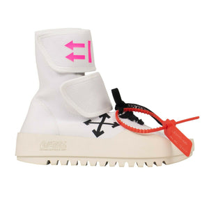 Moto Wrap Sneakers - White