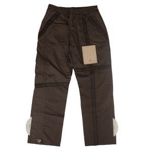 'Circuit Patch' Trousers - Brown
