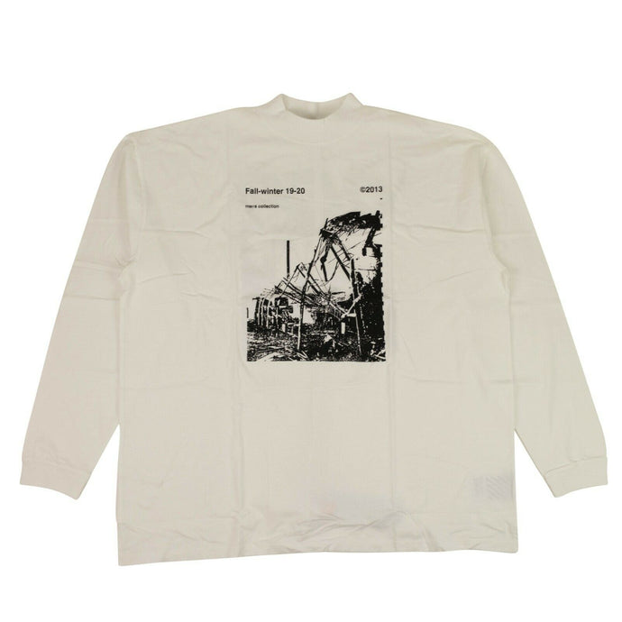 'Ruined Factory' T-Shirt - White