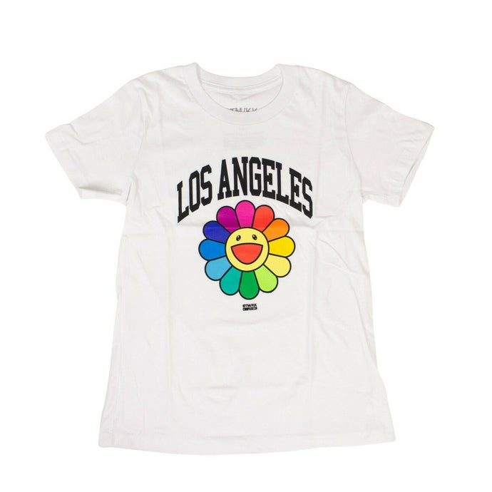 TAKASHI MURAKAMI x COMPLEXCON Youth Los Angeles Flower T-Shirt - White