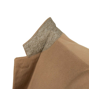 Drop 6 3 Roll 2 Button Wool Sport Coat - Camel