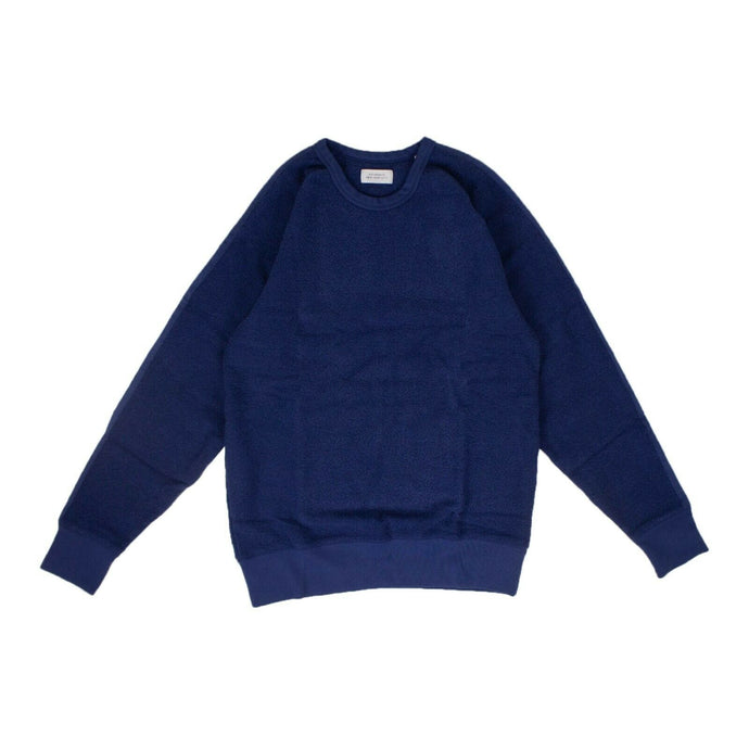 Cotton 'Simon Tape' Pullover Sweatshirt - Blue