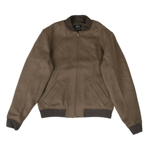 Wool Gaston Jacket - Taupe
