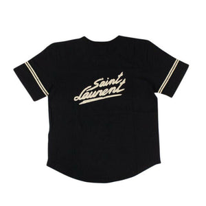 '50's Signature' Short Sleeve T-Shirt - Black