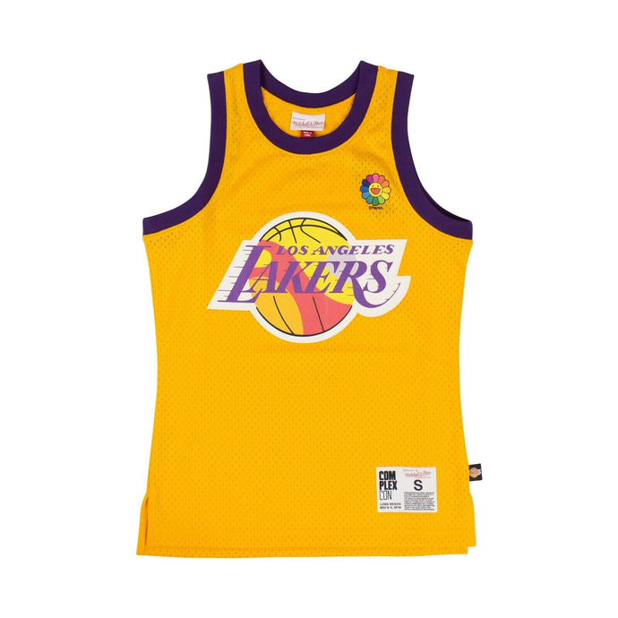 TAKASHI MURAKAMI x COMPLEXCON 'LA Lakers' Basketball Jersey - Yellow