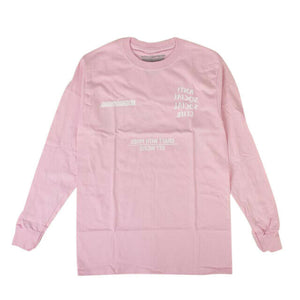 ANTI SOCIAL SOCIAL CLUB X NEIGHBORHOOD Long Sleeves T-Shirt - Pink