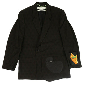Equipment Blazer Jacket - Black