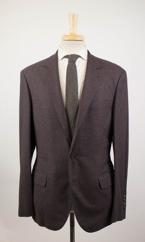 Cashmere Blend 3/2 Button Sport Coat - Purple