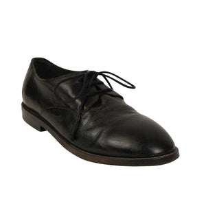 Stiromma Leather Loafers Flats - Black