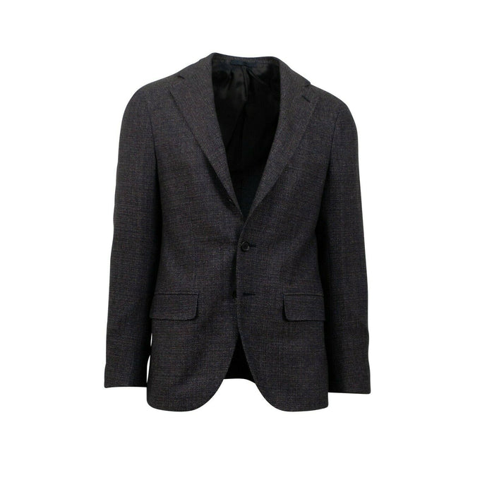 Drop 8 3 Roll 2 Button Wool Sport Coat - Dark Purple