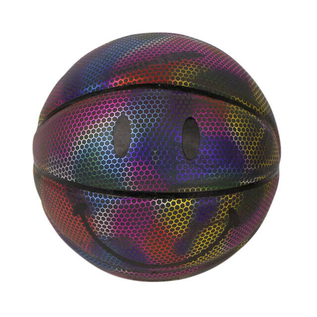 CHINATOWN MARKET x SMILEY Iridescent Smile Face Basketball - Multicolored