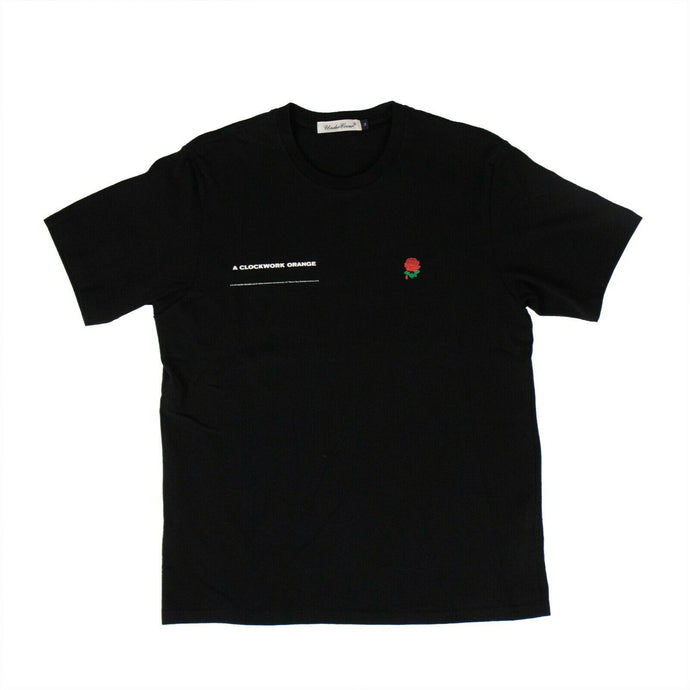 Cotton 'A Clockwork Orange' Face T-Shirt - Black