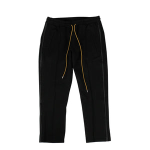 Rayon Traxedo Pants - Black
