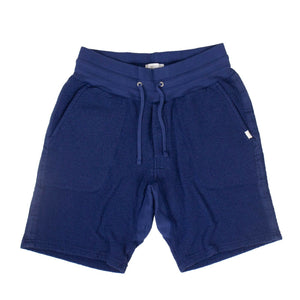 Cotton Austin Tape Sweat Shorts - Cobalt Blue