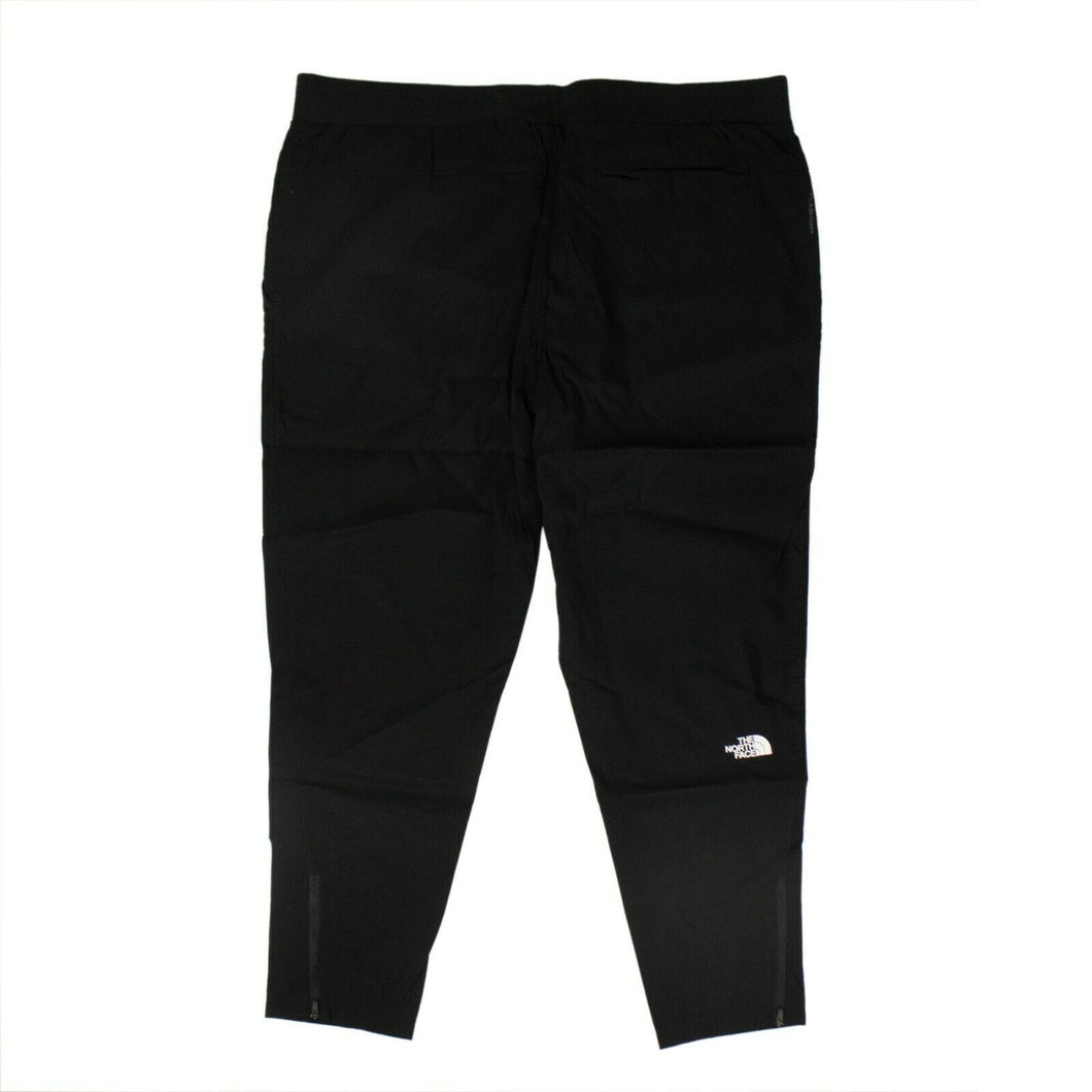 Box Cotton Fine Track Pants - Black