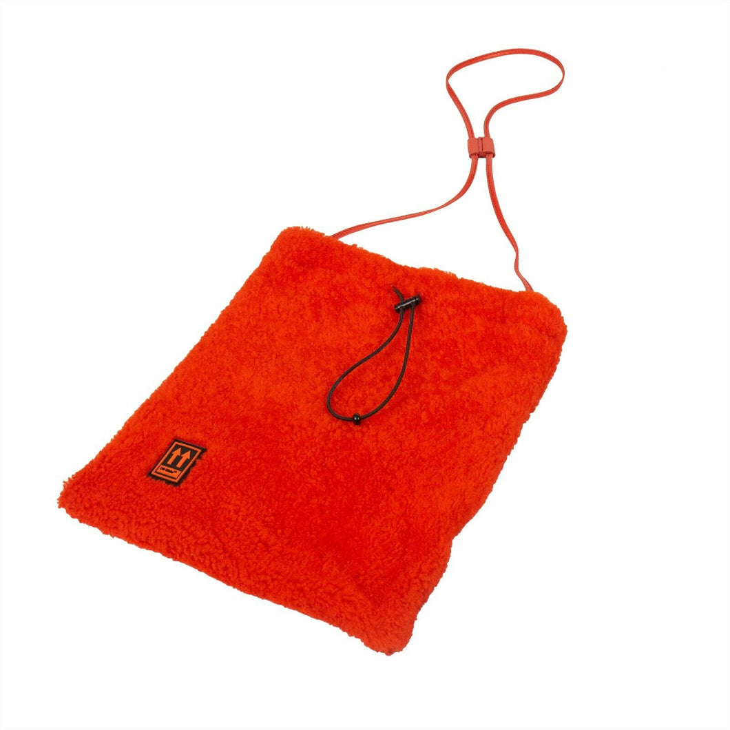 Shoelace Crossbody Bag - Orange